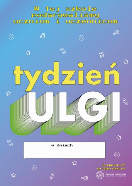 ''TYDZIEŃ ULGI''